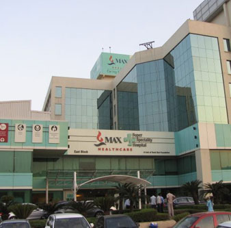 Max Super Speciality Hospital, Saket New Delhi, India